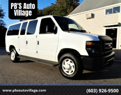 2014 Ford E-Series Cargo for sale at PB'S Auto Village in Hampton Falls NH
