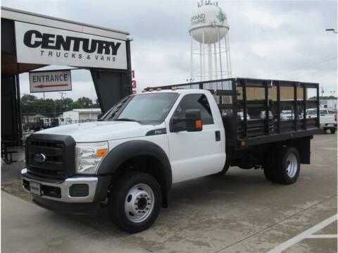 2013 Ford F-450 Super Duty for sale at CENTURY TRUCKS & VANS in Grand Prairie TX
