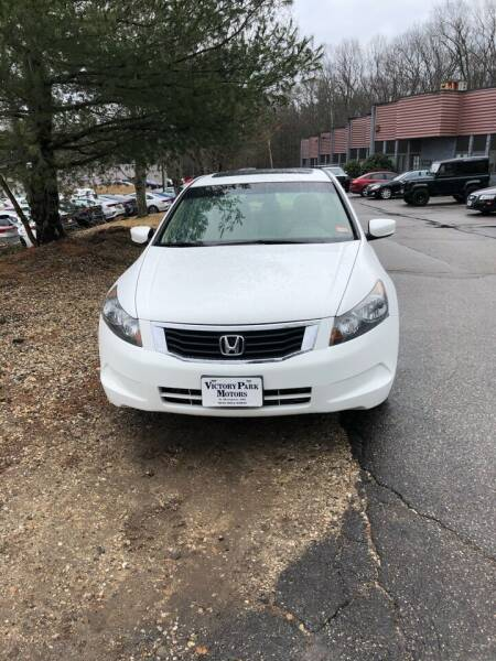 2008 Honda Accord for sale at Dave's Garage Inc in Hampton Beach NH
