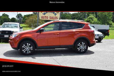 2016 Toyota RAV4 for sale at Watson Automotive in Sheffield MA