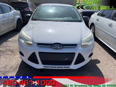2013 Ford Focus for sale at UPARK WE SELL AZ in Mesa AZ