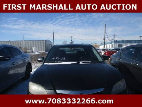 2007 Mazda MAZDA3 for sale at First Marshall Auto Auction in Harvey IL