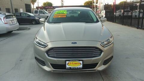 2016 Ford Fusion for sale at El Guero Auto Sale in Hawthorne CA