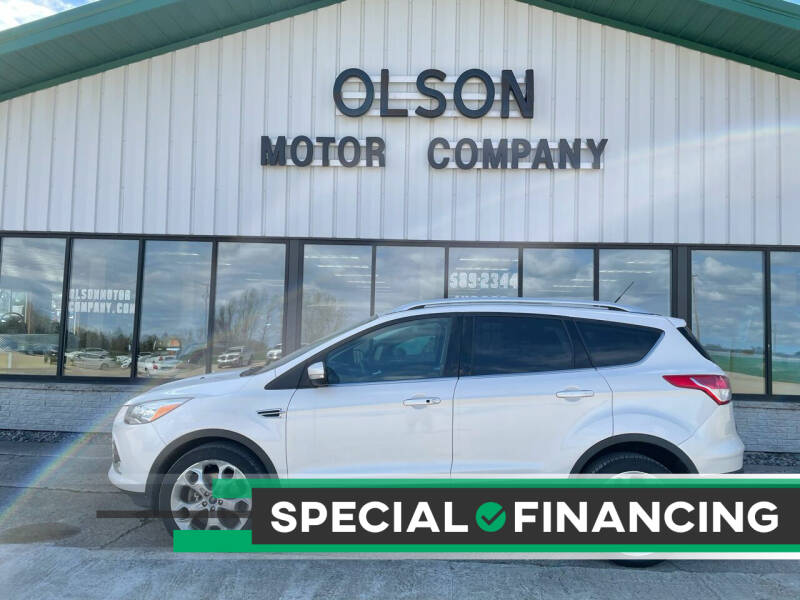 2014 Ford Escape for sale at Olson Motor Company in Morris MN