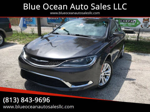 2016 Chrysler 200 for sale at Blue Ocean Auto Sales LLC in Tampa FL