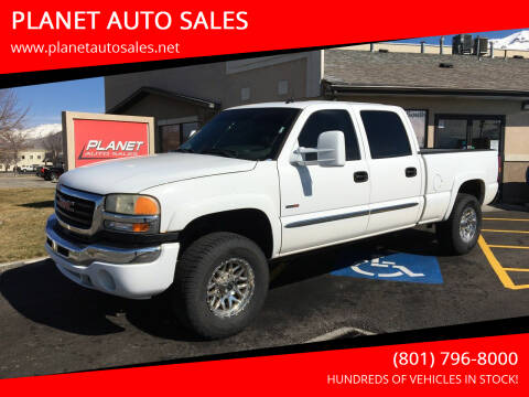 2005 GMC Sierra 2500HD for sale at PLANET AUTO SALES in Lindon UT