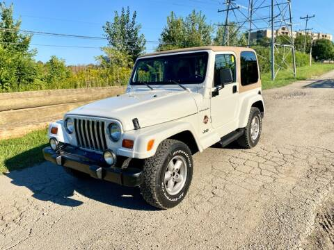 1998 Jeep Wrangler for sale at Siglers Auto Center in Skokie IL