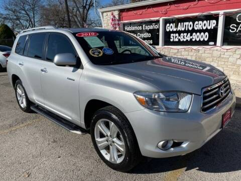 2010 Toyota Highlander for sale at GOL Auto Group in Austin TX