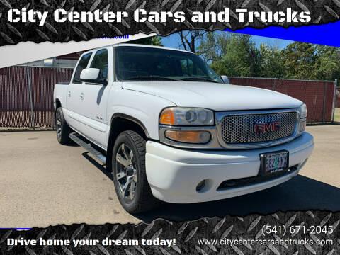 2006 GMC Sierra 1500 for sale at City Center Cars and Trucks in Roseburg OR