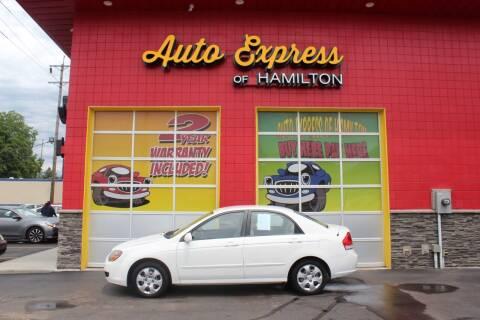 2009 Kia Spectra for sale at AUTO EXPRESS OF HAMILTON LLC in Hamilton OH