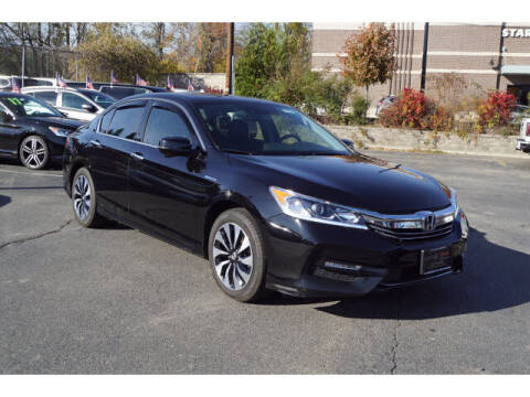 2017 Honda Accord Hybrid for sale at Classified pre-owned cars of New Jersey in Mahwah NJ
