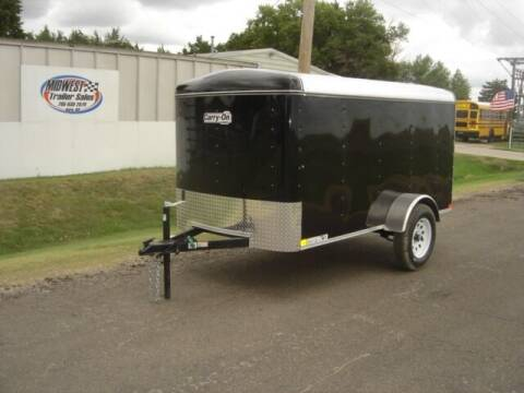 2021 CARRY ON 5 X 10 ENCLOSED for sale at Midwest Trailer Sales & Service in Agra KS