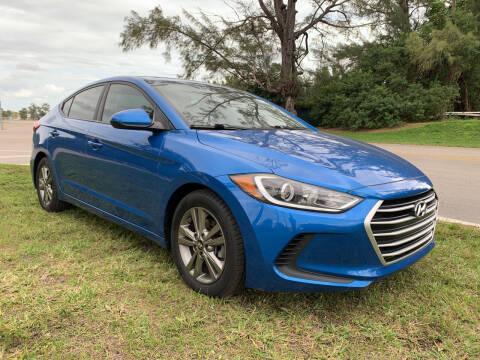 2017 Hyundai Elantra for sale at Nation Autos Miami in Hialeah FL