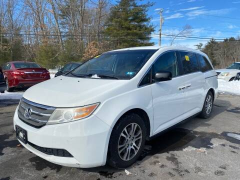 2011 Honda Odyssey for sale at Royal Crest Motors in Haverhill MA