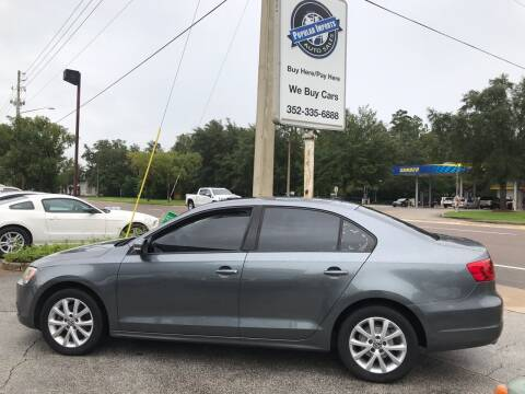 2011 Volkswagen Jetta for sale at Popular Imports Auto Sales in Gainesville FL