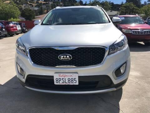 2017 Kia Sorento for sale at MISSION AUTOS in Hayward CA
