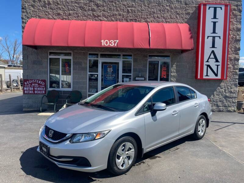 2013 Honda Civic for sale at Titan Auto Sales LLC in Albany NY