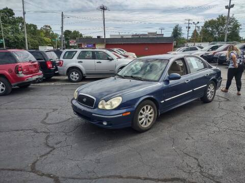 2005 Hyundai Sonata for sale at Flag Motors in Columbus OH