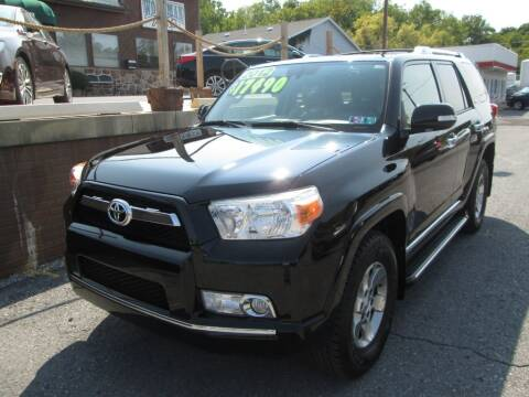 2012 Toyota 4Runner for sale at WORKMAN AUTO INC in Pleasant Gap PA