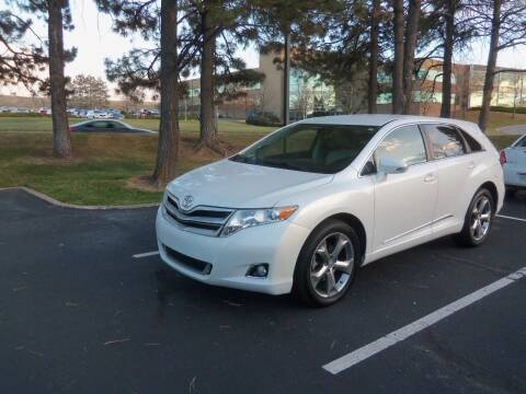 2013 Toyota Venza for sale at QUEST MOTORS in Englewood CO