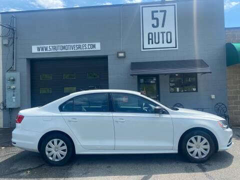 2015 Volkswagen Jetta for sale at 57 AUTO in Feeding Hills MA