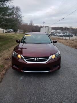 2014 Honda Accord for sale at Speed Auto Mall in Greensboro NC
