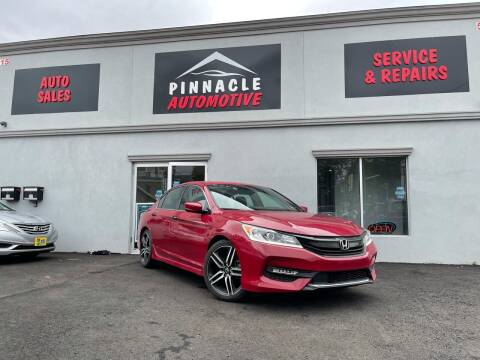 2017 Honda Accord for sale at Pinnacle Automotive Group in Roselle NJ