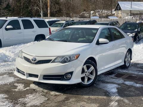 2012 Toyota Camry for sale at AMA Auto Sales LLC in Ringwood NJ