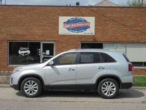 2014 Kia Sorento for sale at Eyler Auto Center Inc. in Rushville IL