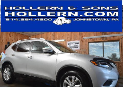 2016 Nissan Rogue for sale at Hollern & Sons Auto Sales in Johnstown PA