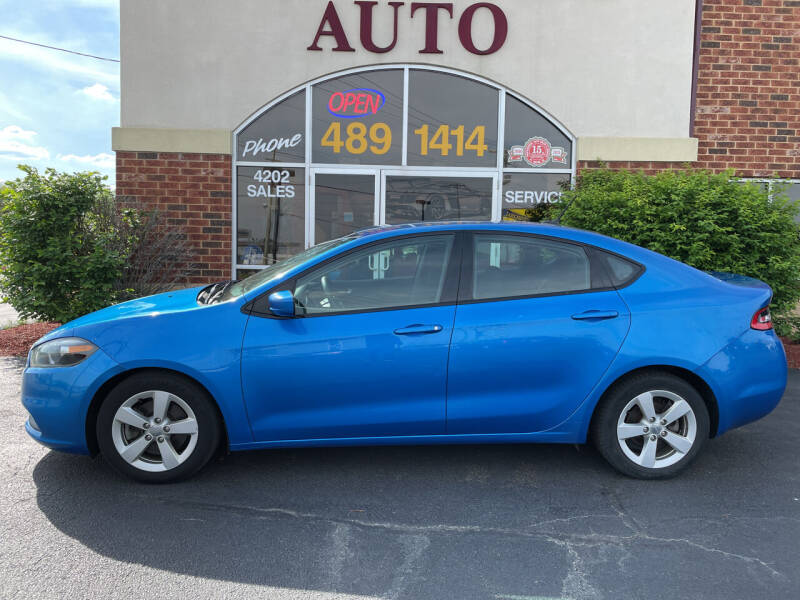 2016 Dodge Dart for sale at Professional Auto Sales & Service in Fort Wayne IN