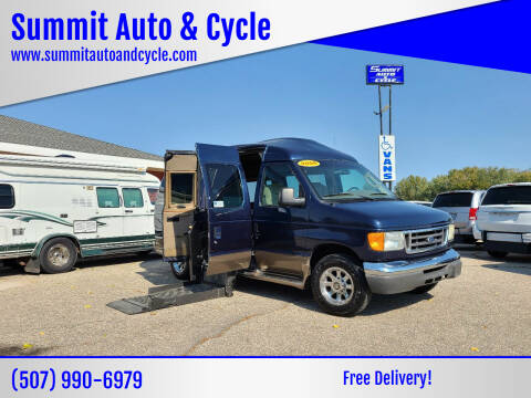 2006 Ford E-Series Chassis for sale at Summit Auto & Cycle in Zumbrota MN