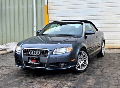 2009 Audi A4 for sale at Haus of Imports in Lemont IL