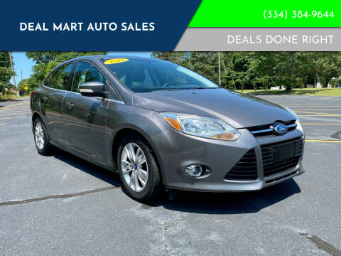 2012 Ford Focus for sale at Deal Mart Auto Sales in Phenix City AL