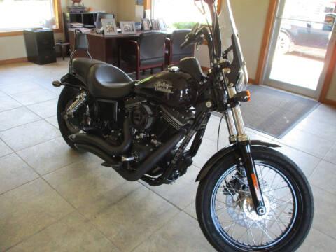 2017 Harley-Davidson FXDB STREET BOB for sale at Granite Auto Sales in Redgranite WI