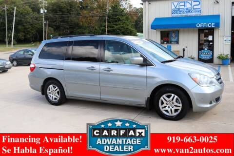 2006 Honda Odyssey for sale at Van 2 Auto Sales Inc in Siler City NC