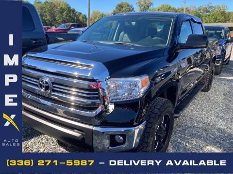 2017 Toyota Tundra for sale at Impex Auto Sales in Greensboro NC
