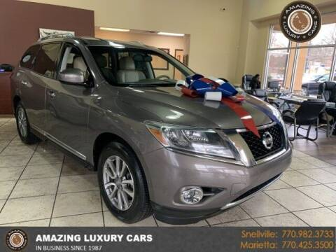 2014 Nissan Pathfinder for sale at Amazing Luxury Cars in Snellville GA