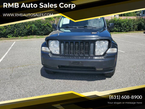 2012 Jeep Liberty for sale at RMB Auto Sales Corp in Copiague NY