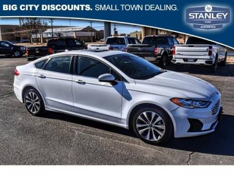 2019 Ford Fusion for sale at STANLEY FORD ANDREWS in Andrews TX