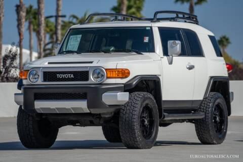 2013 Toyota FJ Cruiser for sale at Euro Auto Sales in Santa Clara CA