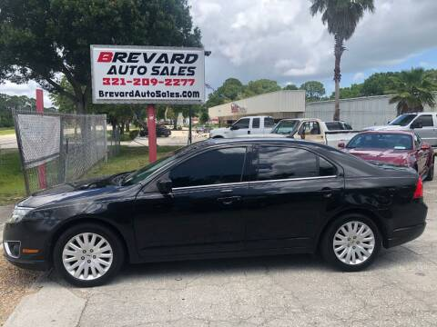 2010 Ford Fusion Hybrid for sale at Brevard Auto Sales in Palm Bay FL