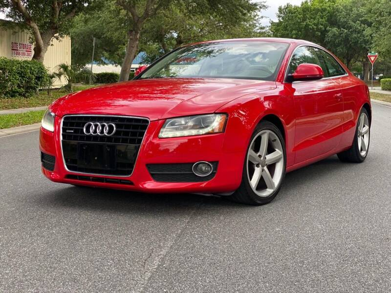 2009 Audi A5 for sale at Presidents Cars LLC in Orlando FL
