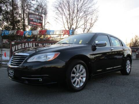 2013 Chrysler 200 for sale at Vigeants Auto Sales Inc in Lowell MA