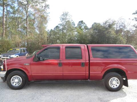 2003 Ford F-250 Super Duty for sale at Ward's Motorsports in Pensacola FL