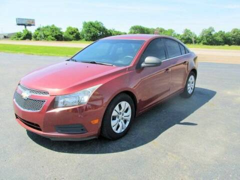 2012 Chevrolet Cruze for sale at 412 Motors in Friendship TN
