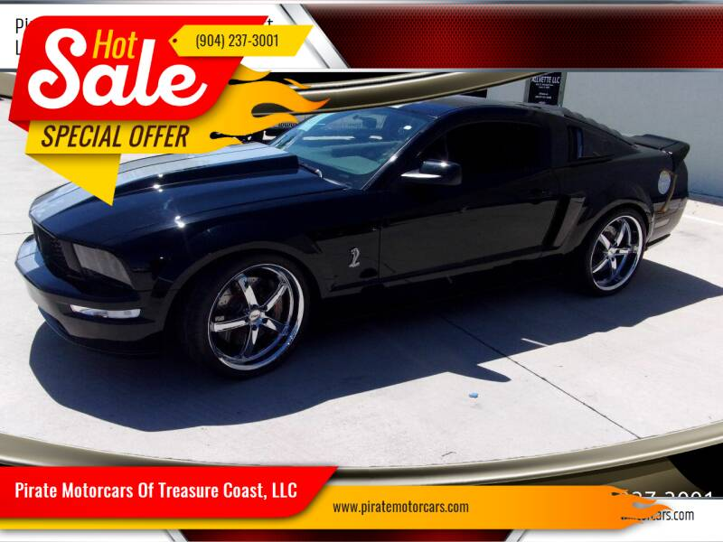 2006 Ford Mustang for sale at Pirate Motorcars Of Treasure Coast, LLC in Stuart FL