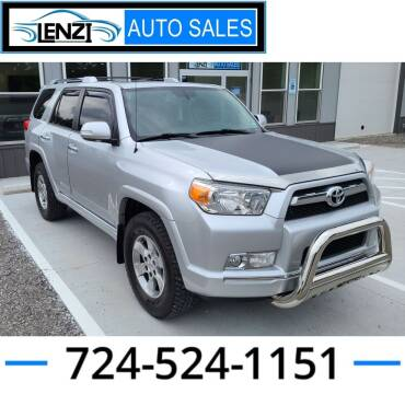 2011 Toyota 4Runner for sale at LENZI AUTO SALES in Sarver PA