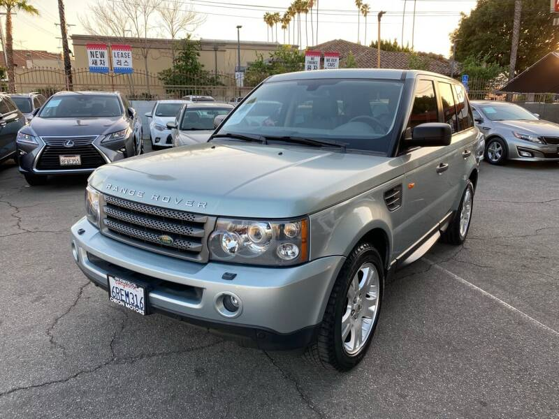 2006 Land Rover Range Rover Sport for sale at Orion Motors in Los Angeles CA