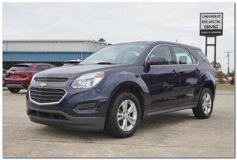2016 Chevrolet Equinox for sale at STRICKLAND AUTO GROUP INC in Ahoskie NC
